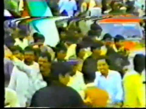 Mqm - Altaf Hussain's Return To Karachi video