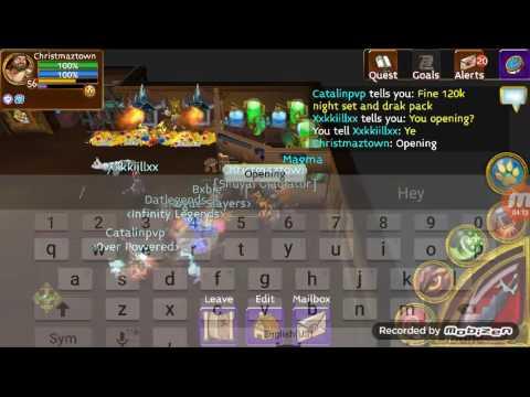 Arcane legends opening 50 elite arena chests (unlucky)