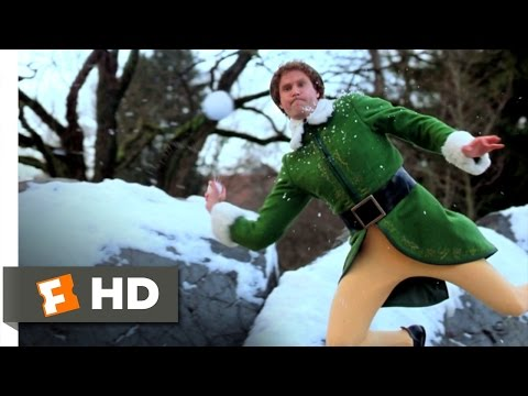 Elf (4/5) Movie CLIP - Snowball Fight (2003) HD