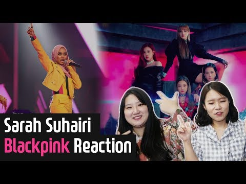 Koreans React to Sarah Suhairi Blackpink DDUDUDDUDU  BigStage