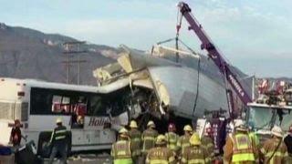 Report: Multiple fatalities in California tour bus crash