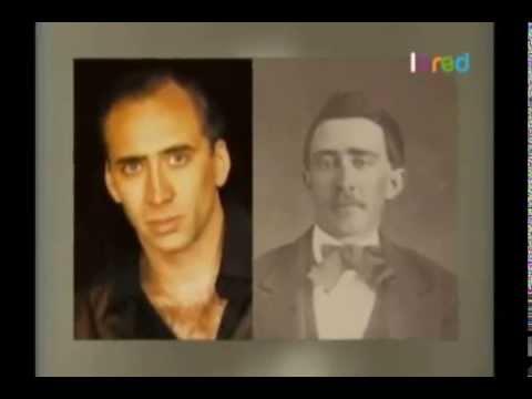 Nicolas Cage, John Travolta, Keanu Reeves y retratos antiguos ¿Coincidencias o qué?