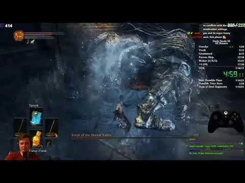 Разбор мирового рекорда в Dark Souls 3. All bosses спидран.