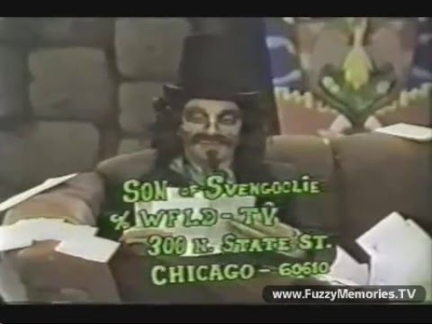Here is a very rare (incomplete) segment of Son of Svengoolie from 1979. Check out the early incarnation of his make-up and mustache. Plus, his dedication to...
