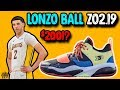 BBB Big Baller Brand Lonzo Ball ZO2.19 Initial Thoughts!