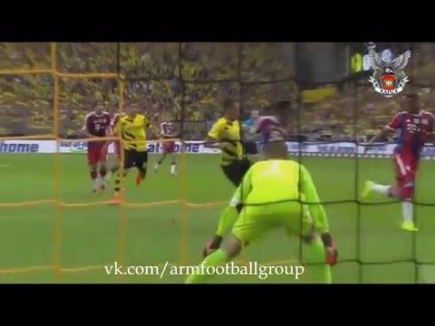 Henrikh Mkhitaryan GOAL Borussia Dortmund vs Bayern Munich