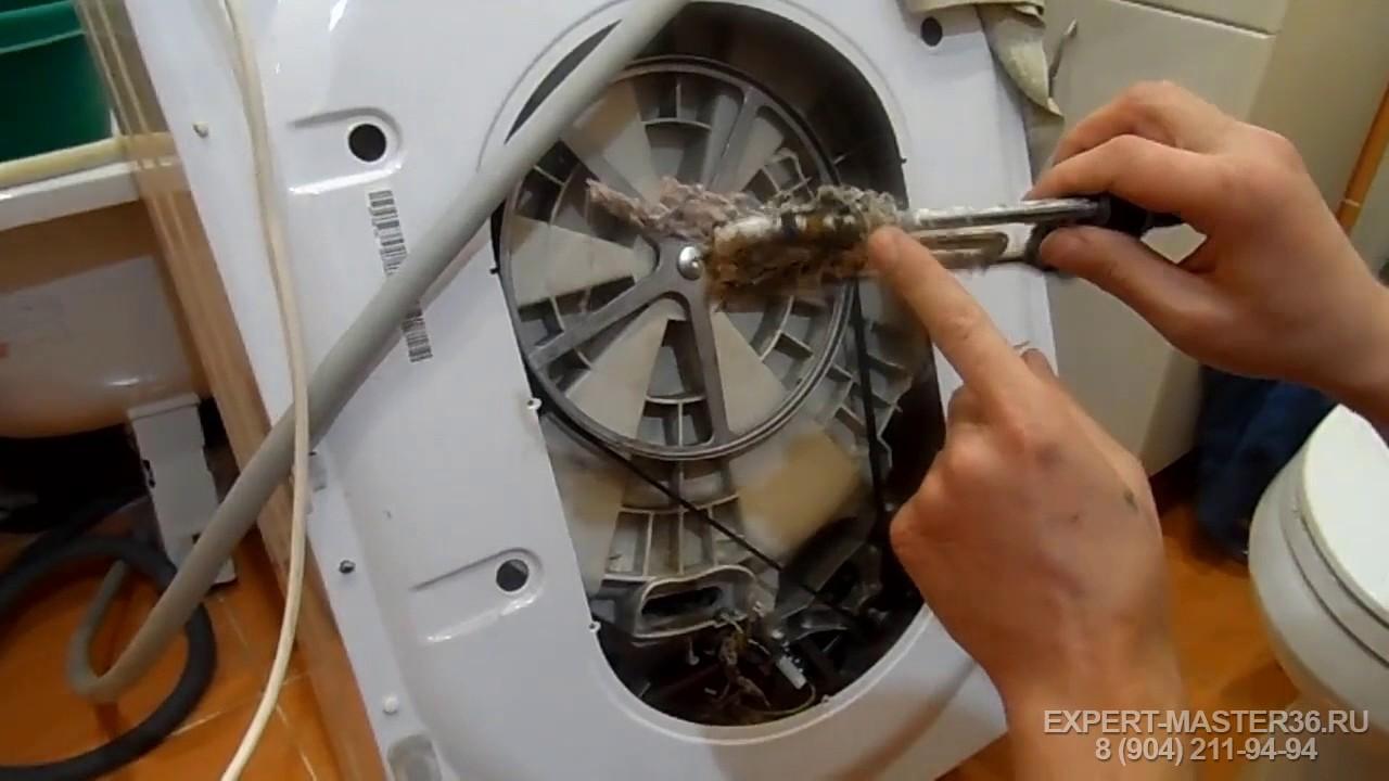 Стиральные машины lg ремонт своими руками замена подшипника 16