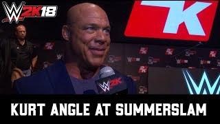 Kurt Angle on WWE 2K18 and WWE SuperCard