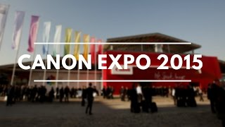 Canon Expo 2015 Paris (with English subtitles!)