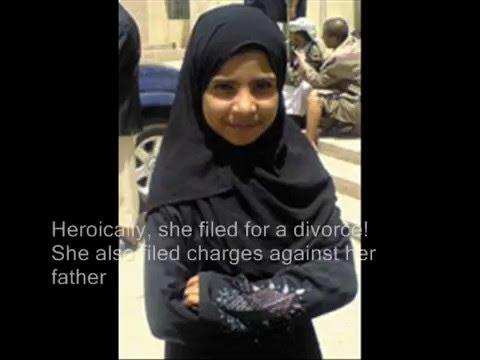 8 Year Old Yemeni Bride, Nojoud Muhammed Nasser