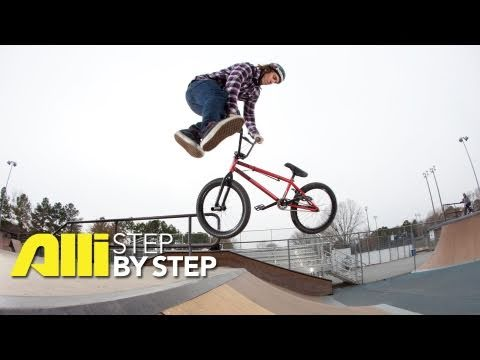 How To Bunnyhop Tailwhip, Josh Perry, Alli Sports BMX Step By Step Trick Tips