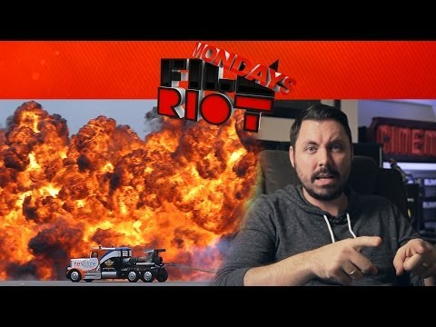 Mondays: Pyrotechnics, Advertising & Will Josh Get His Own Show?