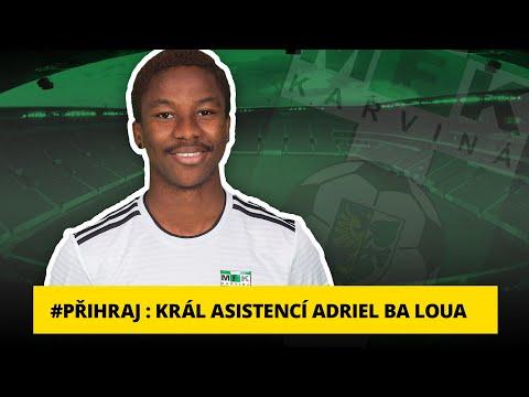 Přihraj:Král asistencí Adriel Ba Loua: Bez gólů spoluhráčů bych neměl žádné asistence