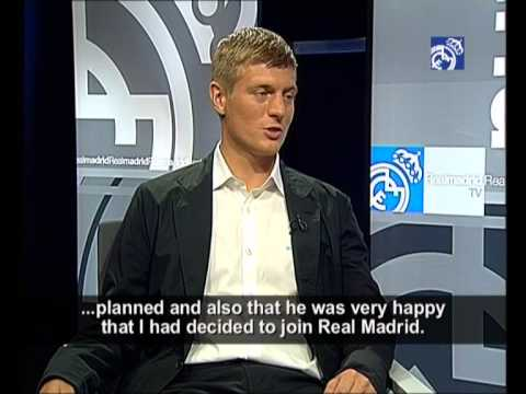 Toni Kroos' first interview as Real Madrid player