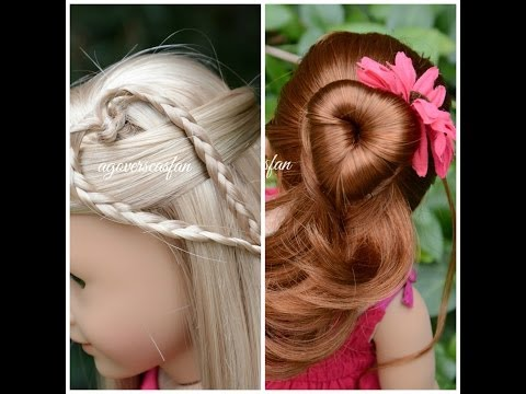 American Girl Doll Hairstyles ~Inspired by Cutegirlshairstyles~