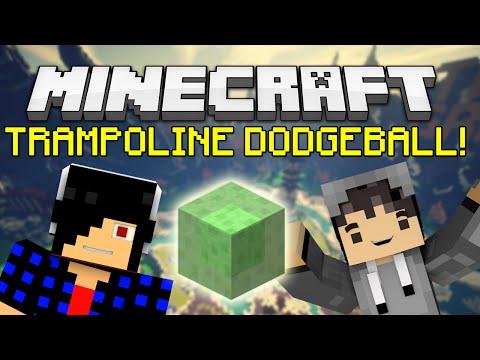 NEW Trampoline Dodgeball! [Minecraft: Minigame]