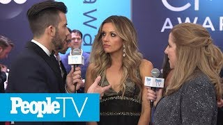 Carly Pearce On Her First Time Walking The Red Carpet With Anyone Else Cmas 2018 Peopletv