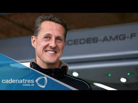 Michael Schumacher abandonó el hospital y seguirá su recuperación en el hogar