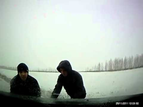 Обгон на льду