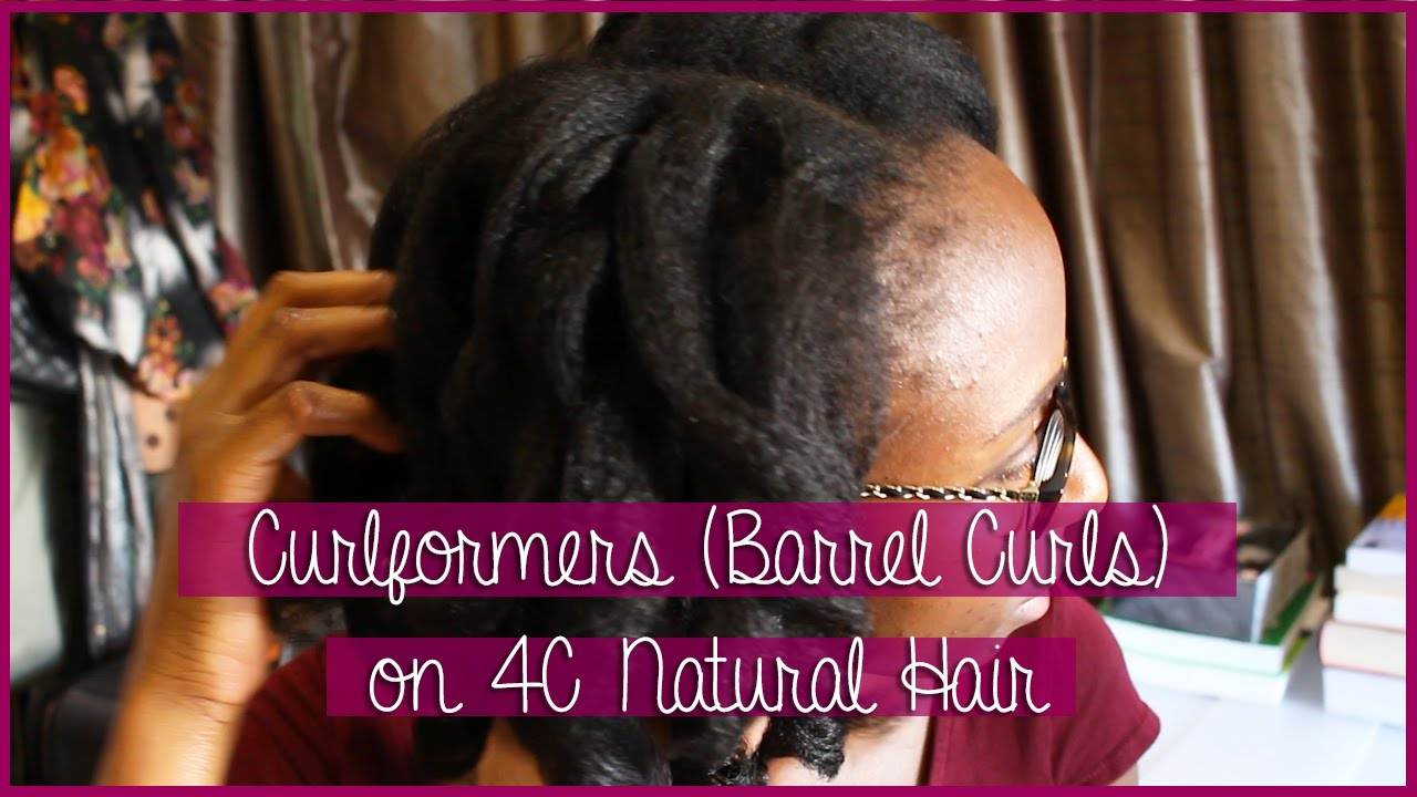 Curlformers Barrel Curls Natural Hair Curlformers Barrel Curls on