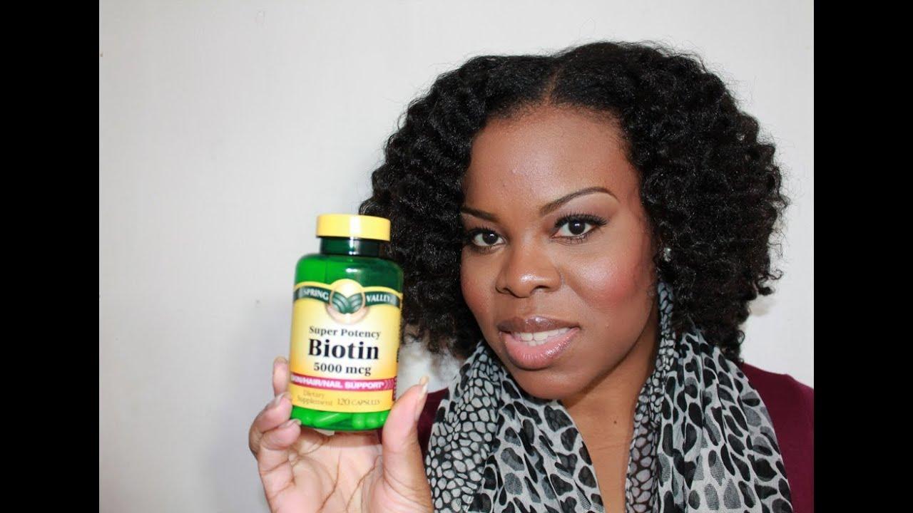 Hair Vitamin Biotin 5000mcg Youtube