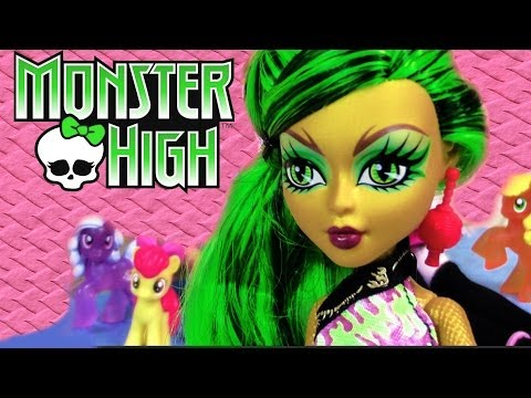 Jinafire Long Monster High scaremester doll toy review unboxing opening