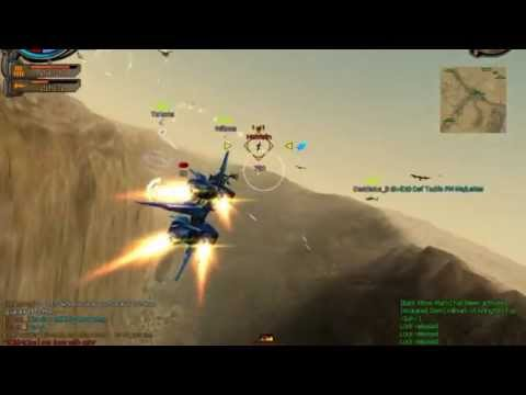 Ace Online / Air Rivals lvl 87 I-Gear TopGun - EZ