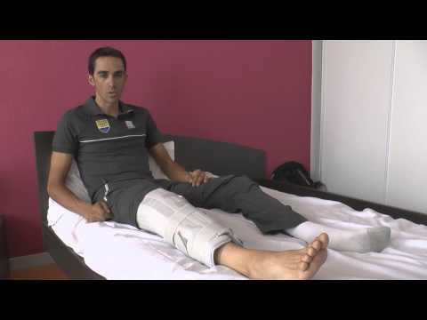Alberto Contador - Despedida del Tour de Francia 2014