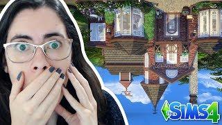 CONSTRUINDO E DECORANDO UMA CASA DE CABEÇA PARA BAIXO!! - The Sims 4 - Desafio Upside Down