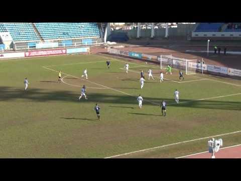 Голы матча Шинник-Сибирь