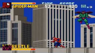 Amazing Spider-Man Lethal Foes (SNES) Gameplay