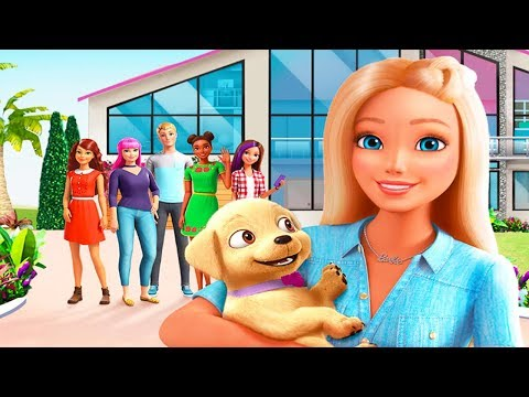 Barbie Dreamhouse Adventures - DIY Design, cook, dance and party - Creative Barbie Games