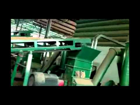 3.5-4 T/h wood pellet production line in Thailand