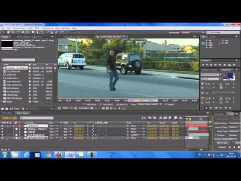 Adobe After Effects Cs4(explosion Effect) Tutorial! Hd video