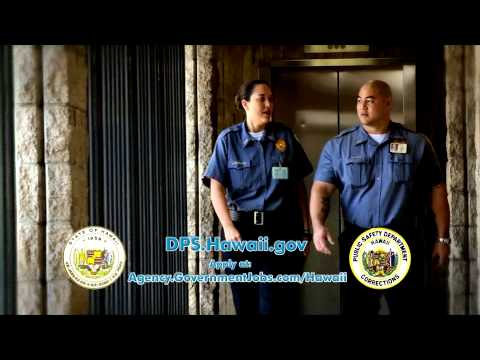 Hawaii corrections recruitment commercial