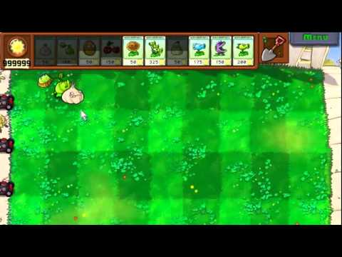 Plants Vs Zombies Cheats   Unlimited Sun Instant Refill Godlike Plants