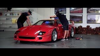 Detailing a Ferrari F40 with Auto Attention | 4K