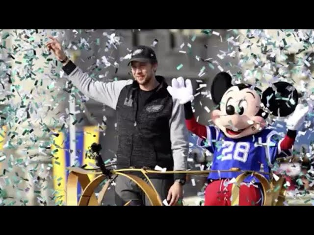 Nick Foles won the Super Bowl and went to Disney World! Why does every MVP do that?