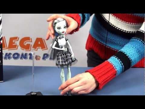 Frankie Stein - It`s Alive / Upiorki Żyją - Monster High - Mattel -  www.MegaDyskont.pl