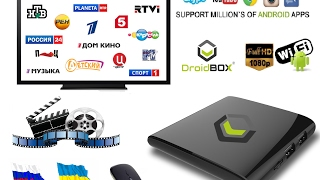 Бесплатное телевидение на Android TV от DroidBox Торрент ТВ / Free Russian TV, Movies on Android