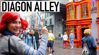 DIAGON ALLEY HARRY POTTER VLOG with Brizzy Voices + Christine Riccio