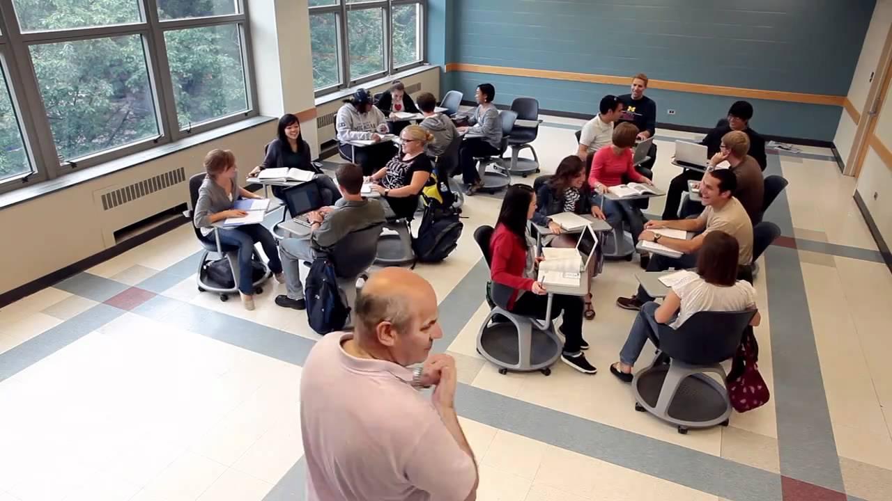 Collaborative Approach Classroom ~ University of michigan case study youtube