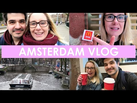 Amsterdam VLOG! Gluten Free McDonalds?!