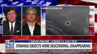Navy F/A-18 Super Hornet Pilot who Chased UFO talks to Tucker Carlson