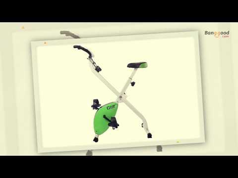 Folding Magnetic Fitness Exercise Bike