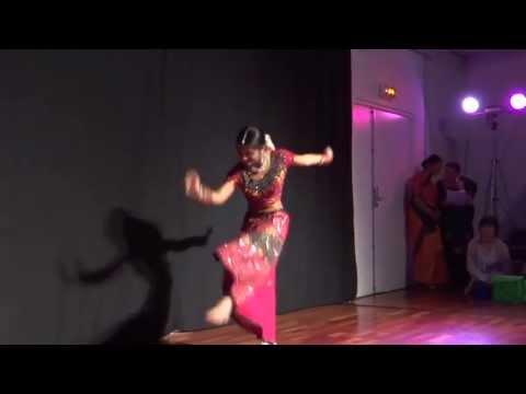 Nimbooda Nimbooda - Dancer ♥ Darshini Ranganathan ♥ 16, The Pride Of India In Nantes, France video