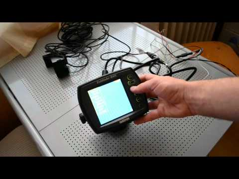 Garmin fishfinder 160c unboxing and the first try