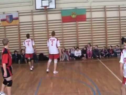 Międzygimnazjalny Turniej Siatkówki Chłopców W PG Wolanów.