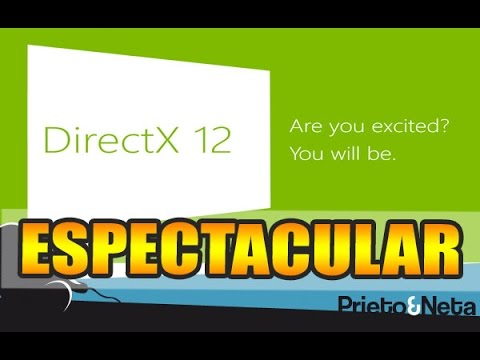 400%    DirectX 12: Los primeros tests arrojan unos resultados ...ESPECTACULARES !!!