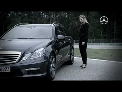 Mercedes-Benz TV: DTM Pilot Susie Stoddart races in the E63 AMG Estate